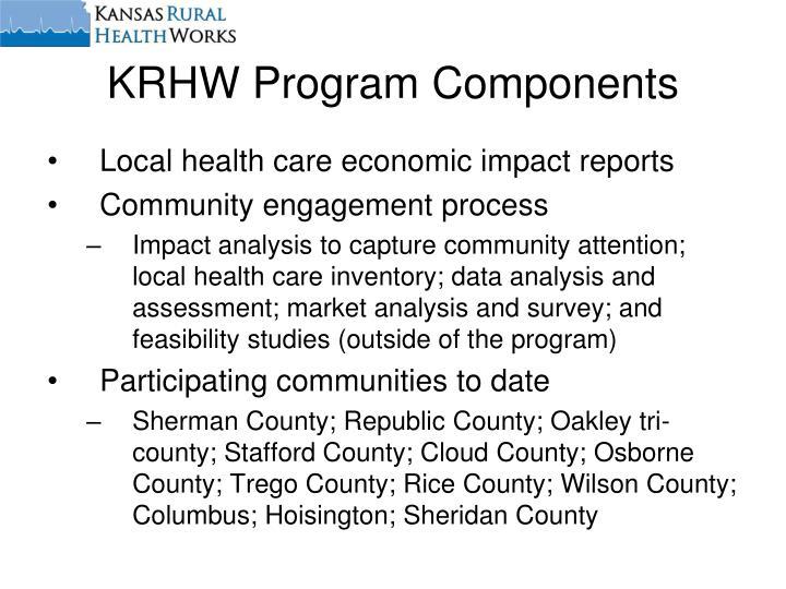 KRHW Program Components