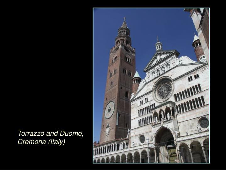 Torrazzo and Duomo, Cremona (Italy)