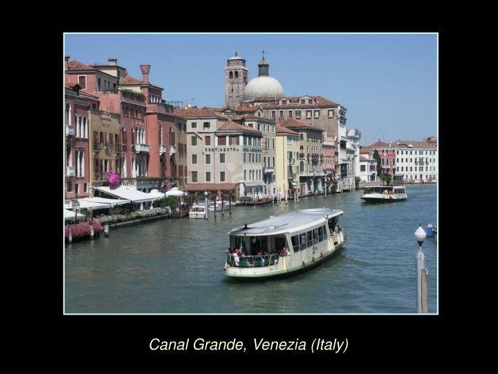 Canal Grande, Venezia (Italy)