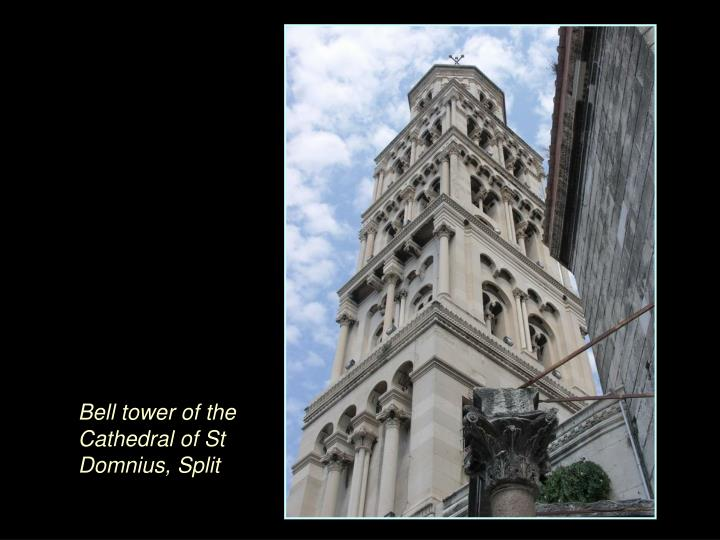 Bell tower of the Cathedral of St Domnius, Split