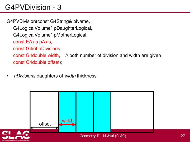 G4PVDivision - 3