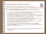 building information systems alternative is development 4 outsourcing cont