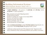 building information systems is development business value of is cont