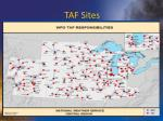 taf sites