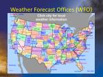 weather forecast offices wfo