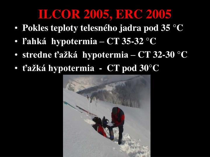 ILCOR 2005, ERC 2005