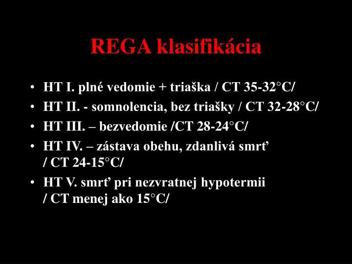 REGA klasifikácia