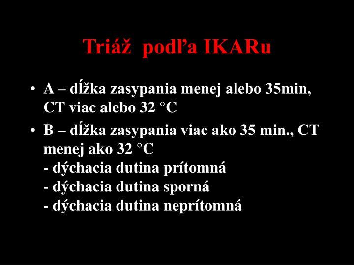 Triáž  podľa IKARu