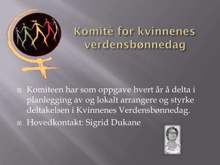 Komité for kvinnenes