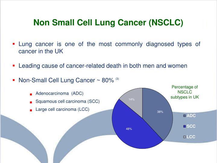Non small cell lung cancer.
