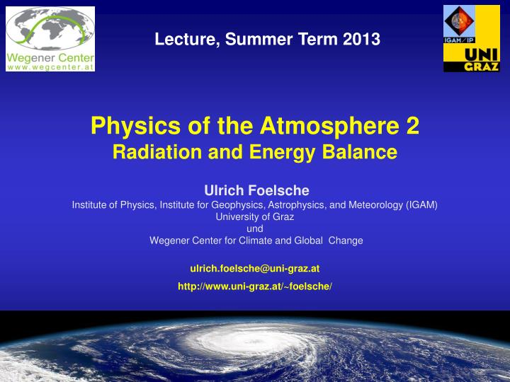 an analysis of global energy balance and atmospheric motion Courses search displaying 1 - 36 of motion and energy balance of the atmosphere (global energy balance, atmospheric general circulation, ocean circulation.