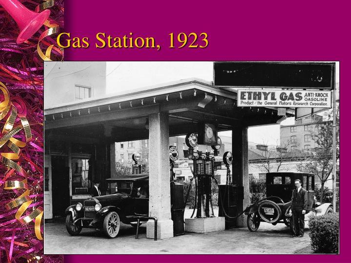 Gas Station, 1923