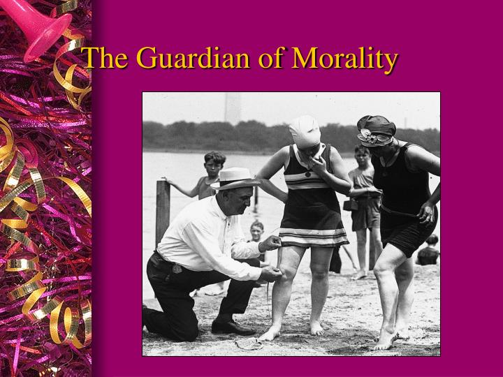 The Guardian of Morality
