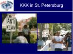 kkk in st petersburg