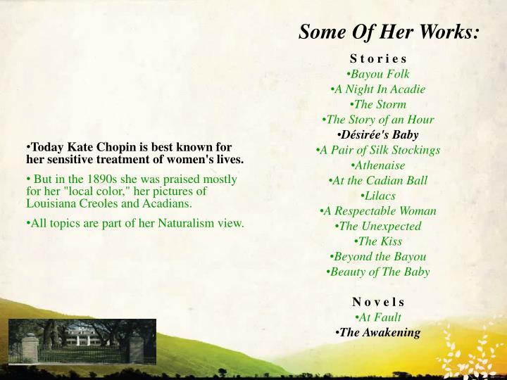 kate chopin at the cadian ball