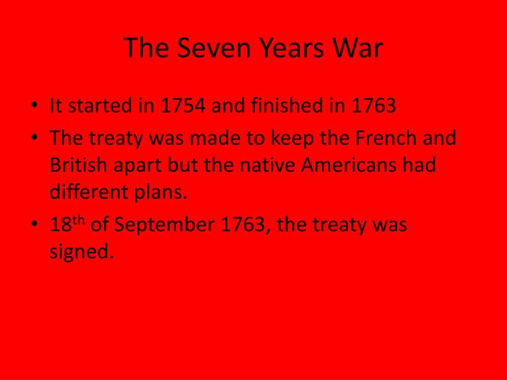 causes and consequences french and indian war