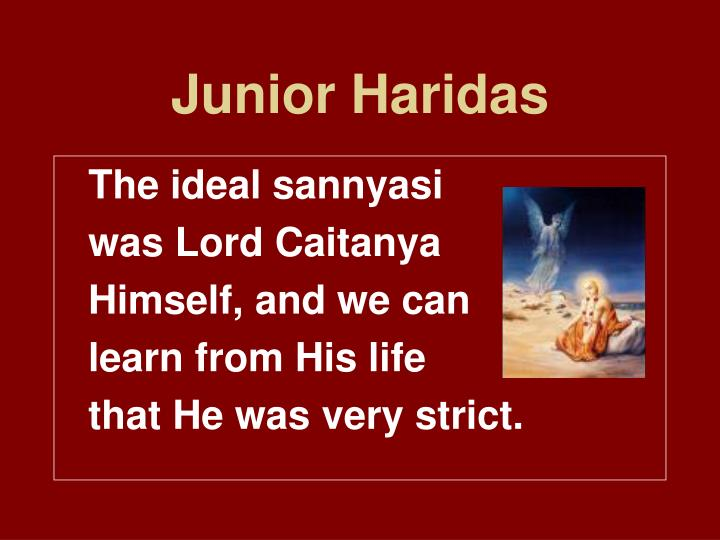 Junior Haridas
