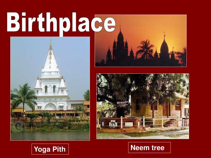 Birthplace