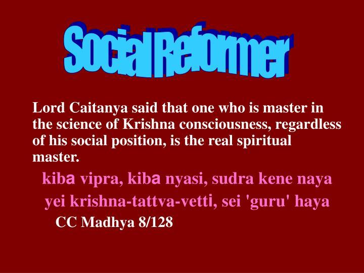 Social Reformer