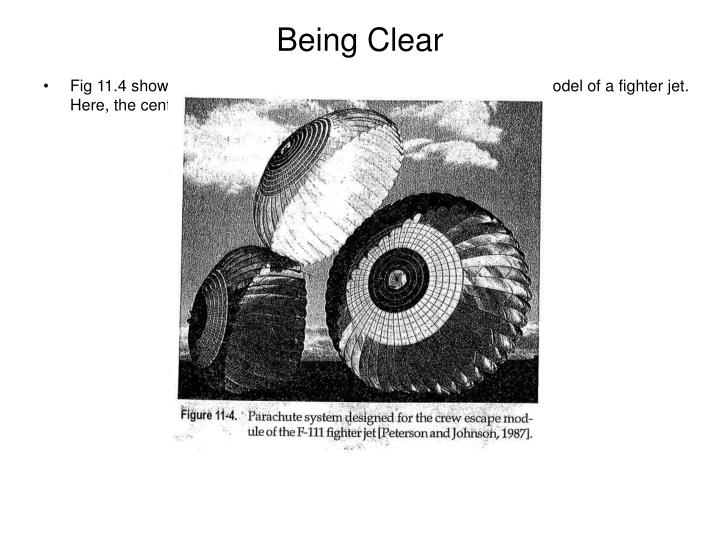 Being Clear