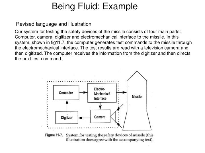 Being Fluid: Example