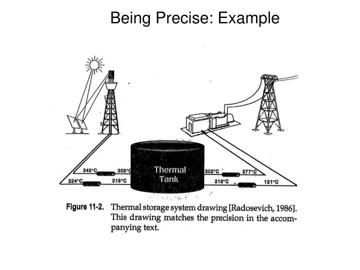 Being Precise: Example