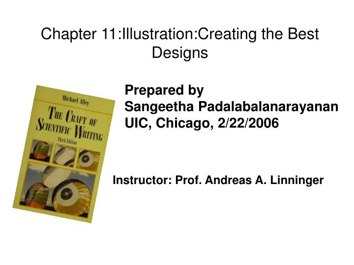 Chapter 11:Illustration:Creating the Best Designs