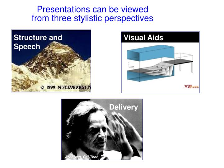 Presentations can be viewed
