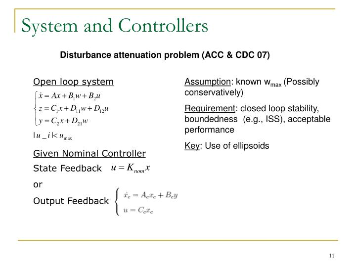 System and Controllers