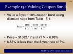 example 15 1 valuing coupon bonds