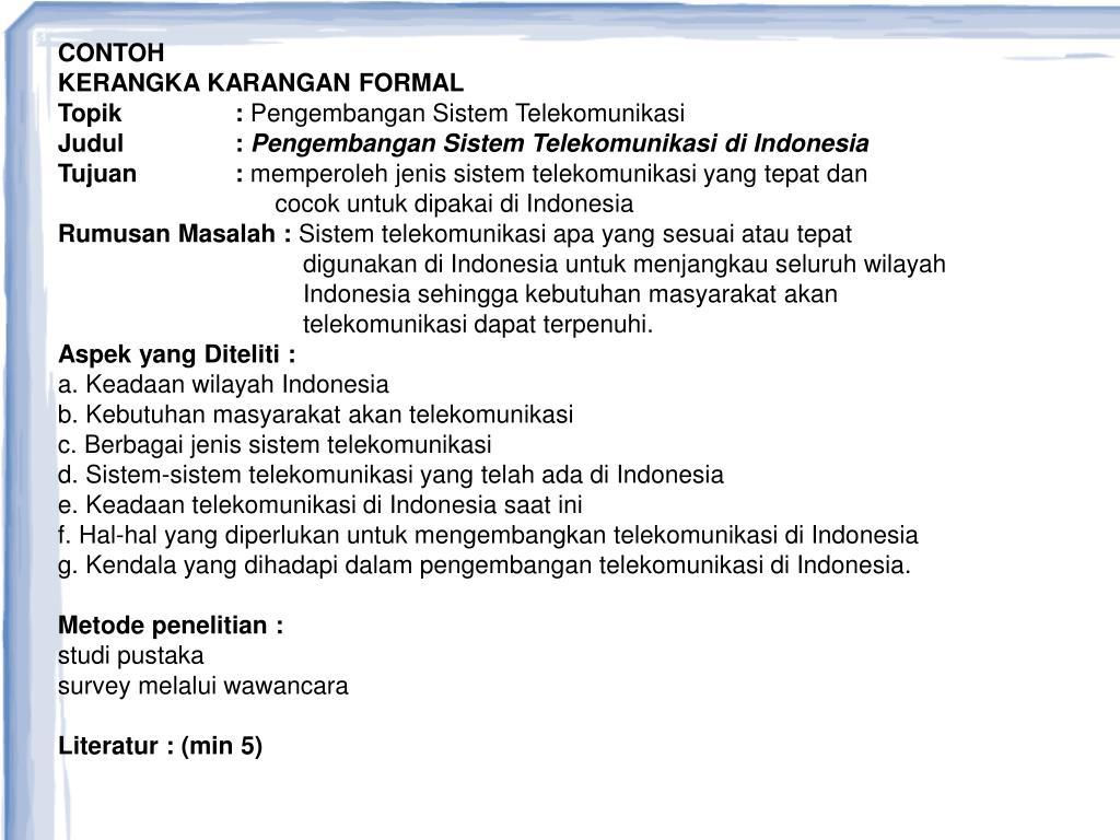 Ppt Kerangka Karangan Powerpoint Presentation Free Download Id 5063729