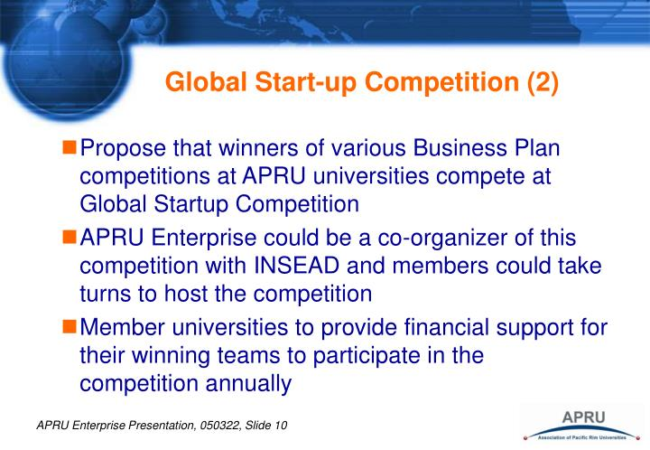 Global Start-up Competition (2)