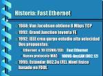 historia fast ethernet