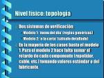nivel f sico topolog a1