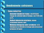 rendimiento colisiones1