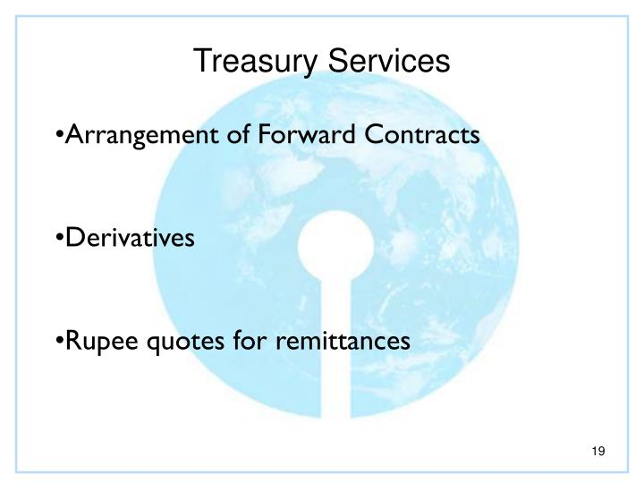 Treasury Services