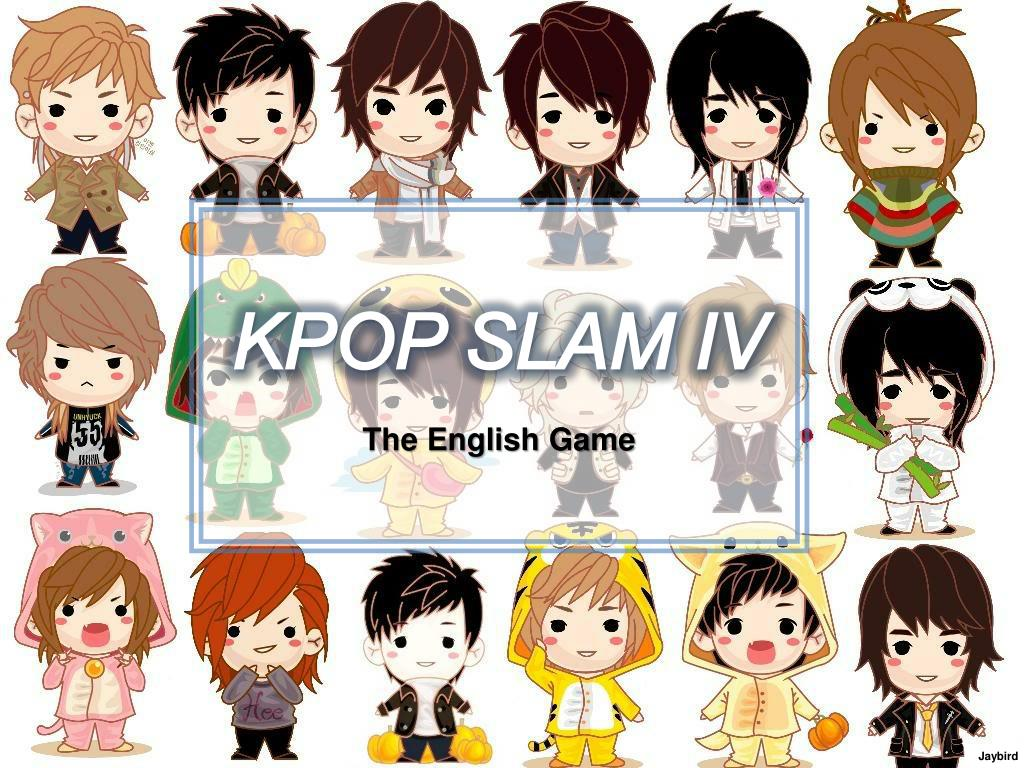 Ppt Kpop Slam Iv The English Game Powerpoint Presentation Id 5065321