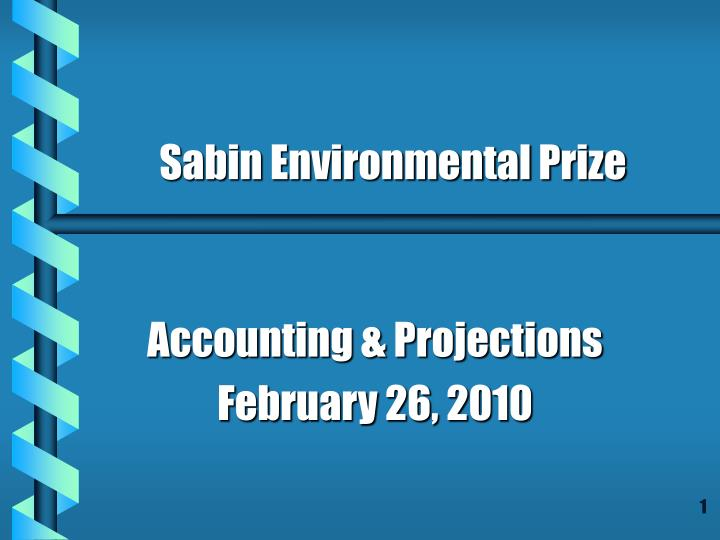 accounting projections february 26 2010 n.