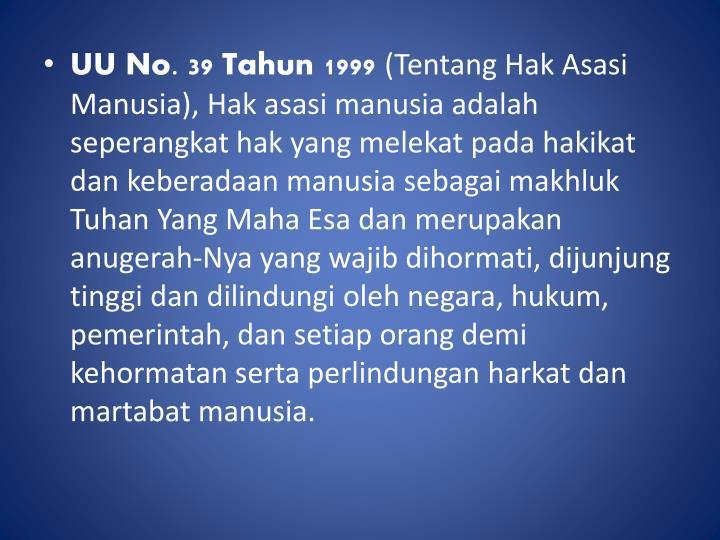 UU No. 39