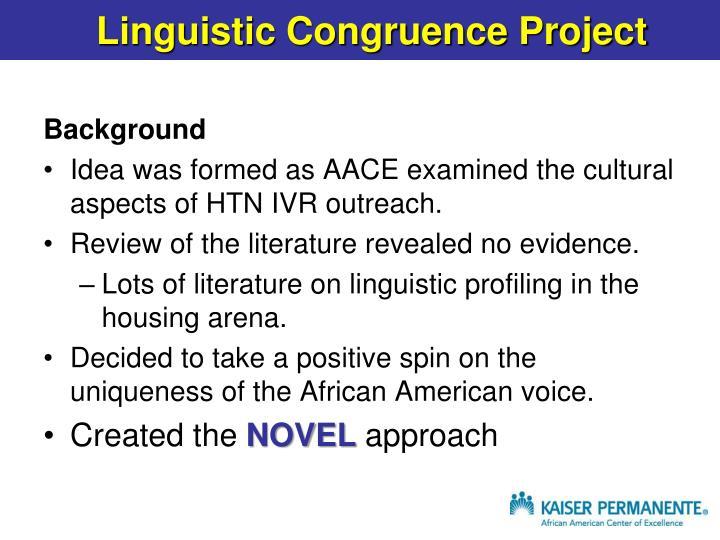linguistic profiling