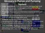 glossary in pumps and pumping system27