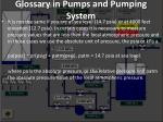 glossary in pumps and pumping system3