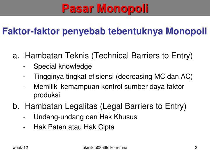Pasar Monopoli
