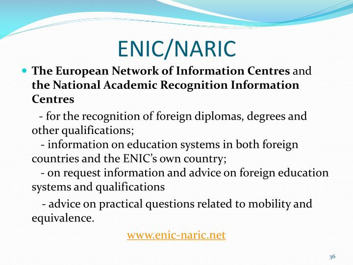 ENIC/NARIC
