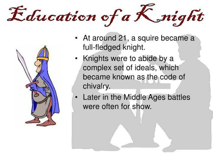 a biography of chivalry the code of brave and courteous conduct for knights Chivalry essay - it is apparent in today&#8217s society that the definition and application of chivalry has changed through history during the middle ages, chivalry was a code of brave and courteous conduct for knights according to this system of morals and manners, a knight was to remain faithful to god, loyal to his king,.