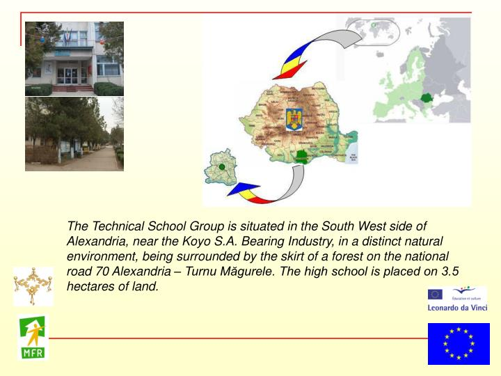 The Technical School Group is situated in the South West side of Alexandria, near the Koyo S.A. Bear...