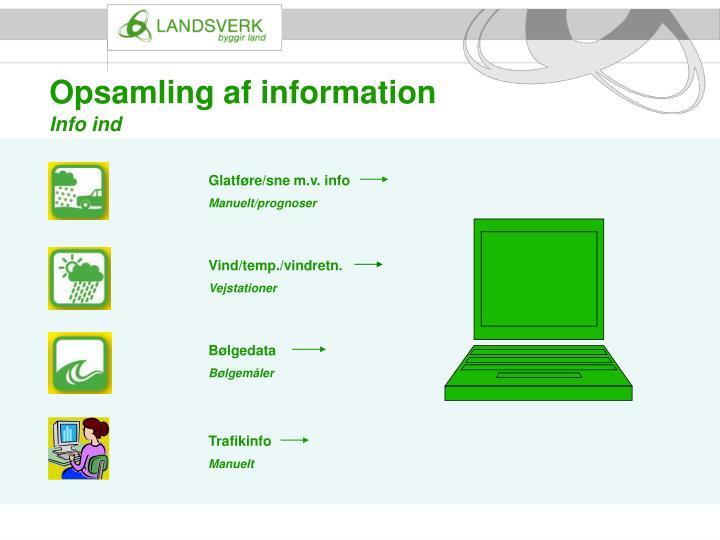 Opsamling af information