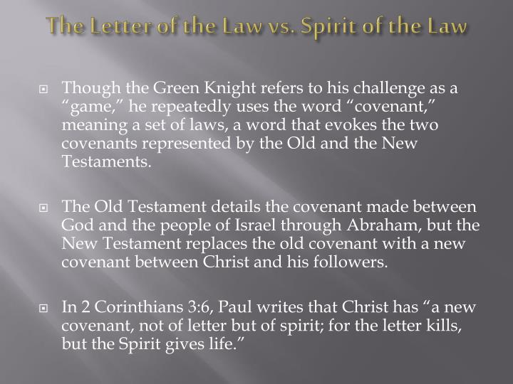 letter of the law vs spirit of the law ppt the author powerpoint presentation id 5067297 23100
