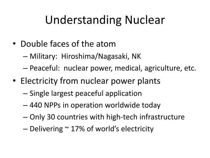 Understanding Nuclear