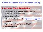 kohl s 13 values that americans live by8